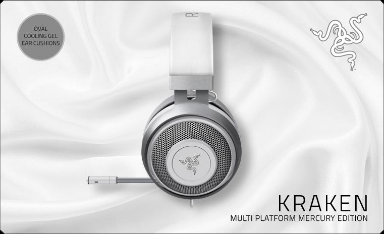 Razer Kraken Multi Platform Mercury Edition (RZ04-02830400-R3M1)