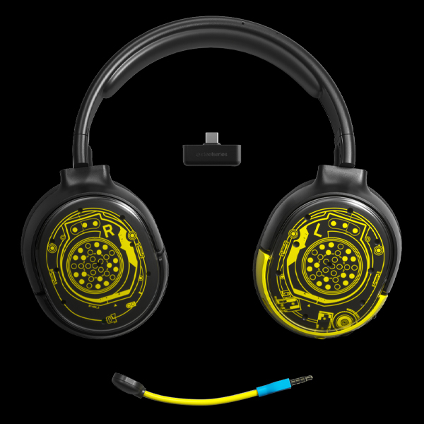 SteelSeries Arctis 1 Wireless Cyberpunk 2077 Edition  (61518) цена