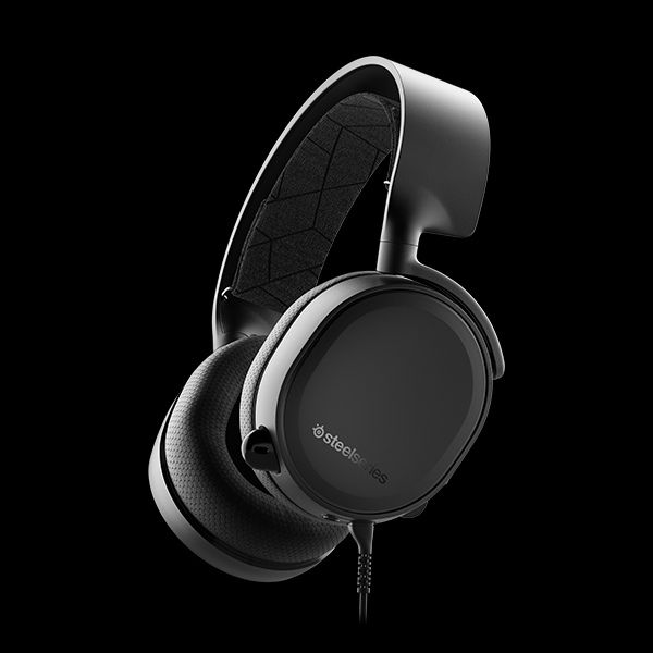 SteelSeries Arctis 3 Black 2019 Edition (61503)