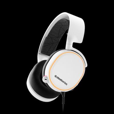 SteelSeries Arctis 5 White 2019 Edition (61507) купить