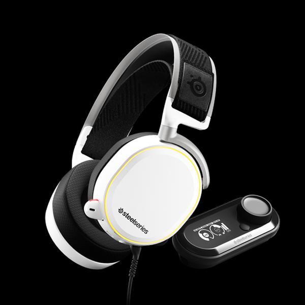SteelSeries Arctis Pro + GameDAC White (61454) купить