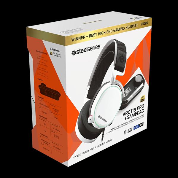 SteelSeries Arctis Pro + GameDAC White (61454) фото