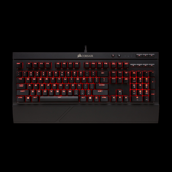 Corsair Gaming K68 Cherry MX Red (CH-9102020-RU) описание