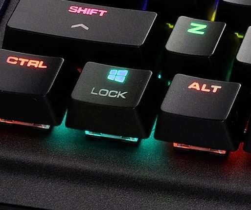 Блокировка клавиши Windows