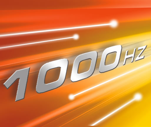Частота опроса 1000 Гц