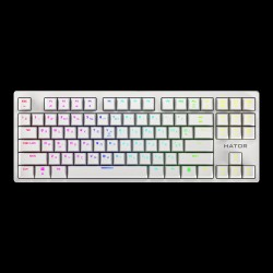 Hator Rockfall EVO TKL Optical White (HTK-631)