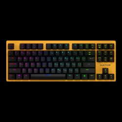 Hator Rockfall EVO TKL Optical Yellow (HTK-632)