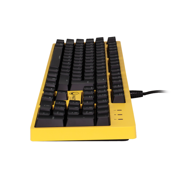 Hator Rockfall Mechanical Blue Switches Yellow Edition UA (HTK-600) в Украине