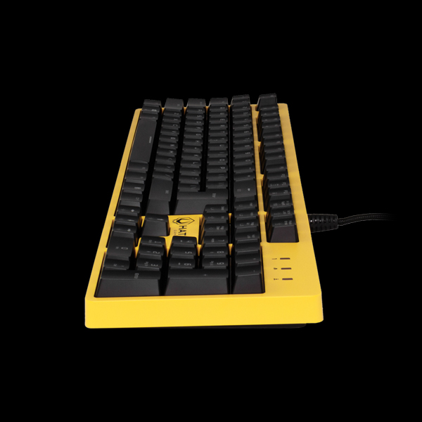 Hator Rockfall Mechanical Red Switches Yellow Edition UA (HTK-602) в Украине