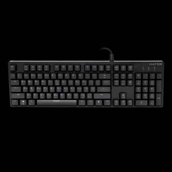 Hator Rockfall Mechanical Red Switches UA (HTK-606) купить
