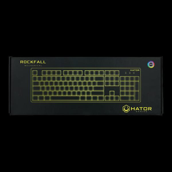 Hator Rockfall Mechanical Red Switches UA (HTK-606) стоимость