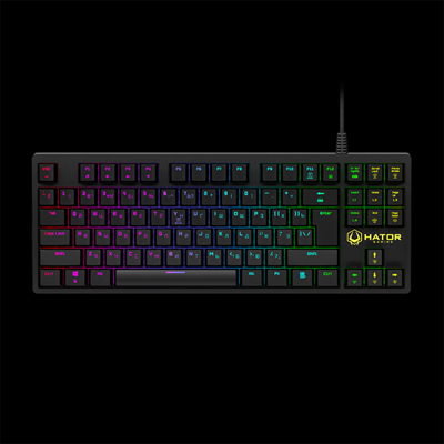 Hator Rockfall TKL Optical Black Switches (HTK-620)