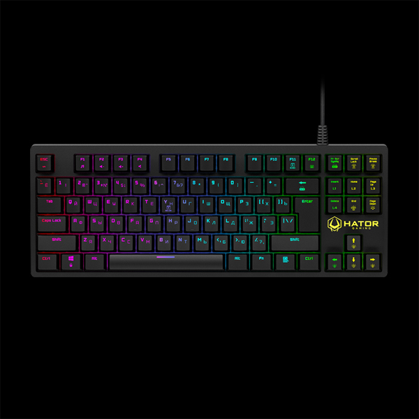 Hator Rockfall TKL Optical Black Switches (HTK-620) купить