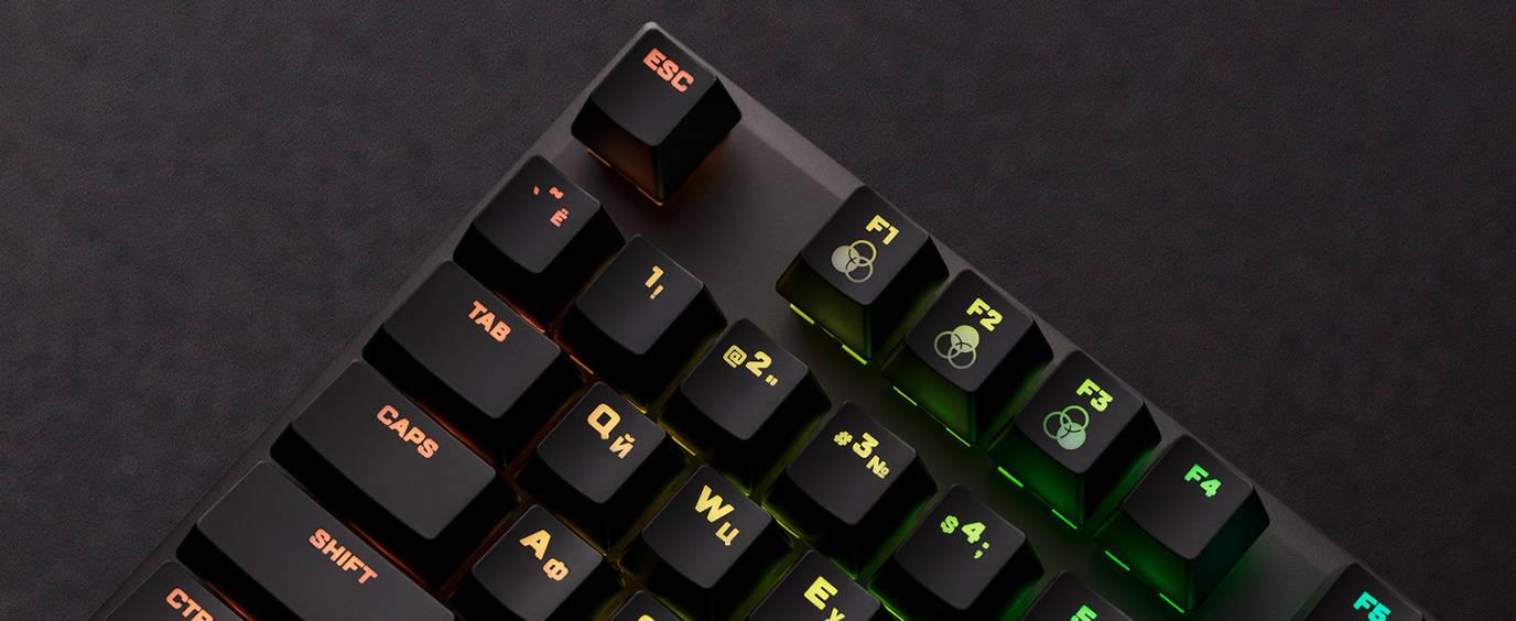 Клавиши с эффектами