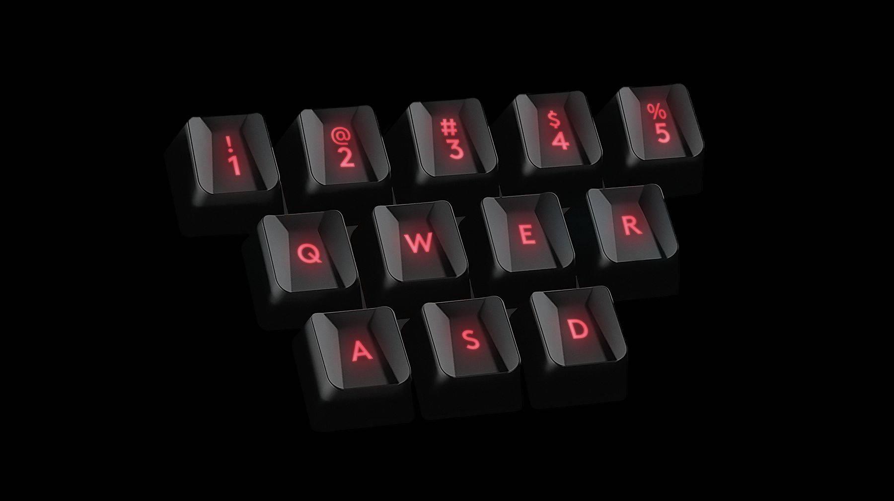 Колпачки клавиш для игры