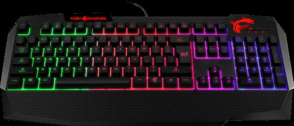Цветная подсветка клавиатуры с настраиваемой яркостью