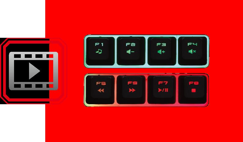 Мультимедийные клавиши