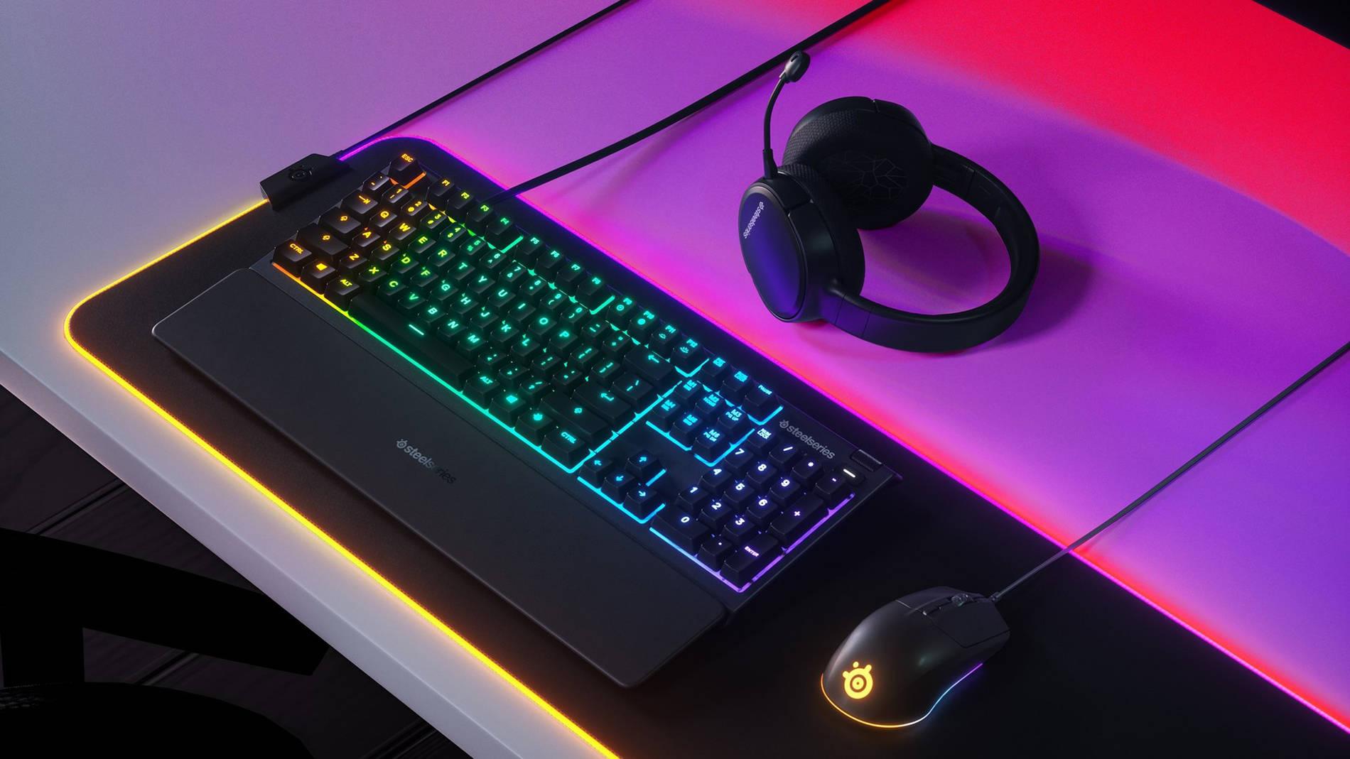 10 зон RGB подсветки