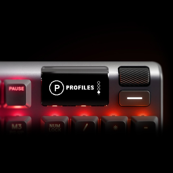 SteelSeries Apex 7 Red Switches (64642) цена