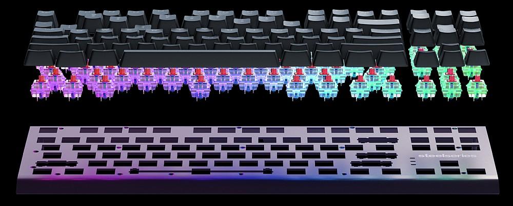 клавиатура разобрана