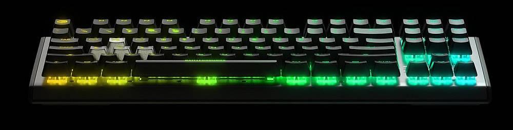 клавиатура светится