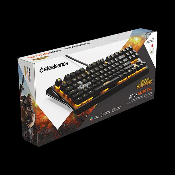 aa05d5023f5 Игровая клавиатура STEELSERIES APEX M750 TKL PUBG Edition (64726 ...