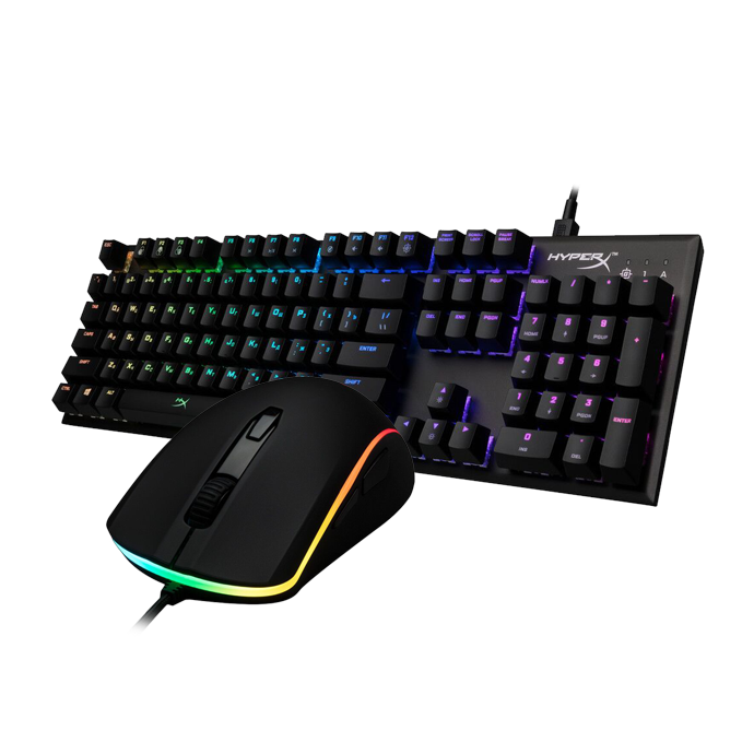 HyperX Bundle 4 (Pulsefire Surge RGB + Alloy FPS RGB)