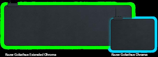 Razer Goliathus Chroma and Razer Goliathus Extended Chroma