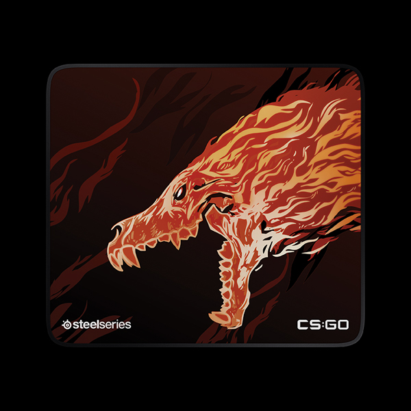 STEELSERIES QcK+ CS:GO Howl Edition (63403)