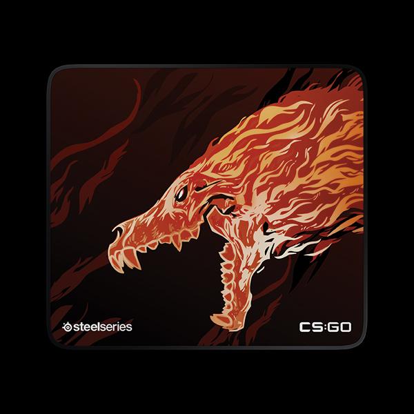 STEELSERIES QcK+ CS:GO Howl Edition (63403) купить