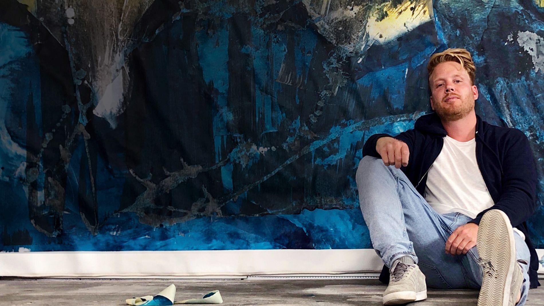 Шведский художник Ким Беркхуйзен