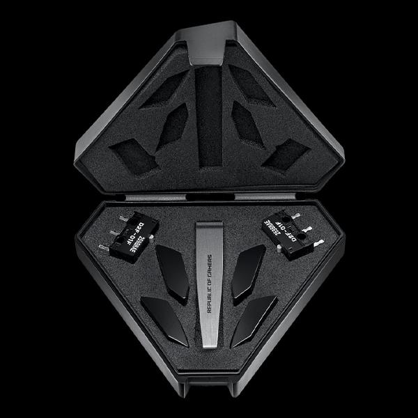 ASUS ROG Pugio II WL Black (90MP01L0-BMUA00) фото