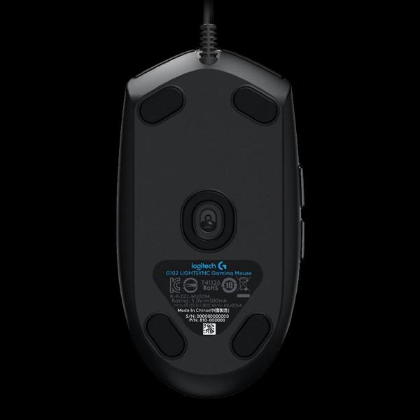 Logitech G102 Lightsync Black (910-005823) фото