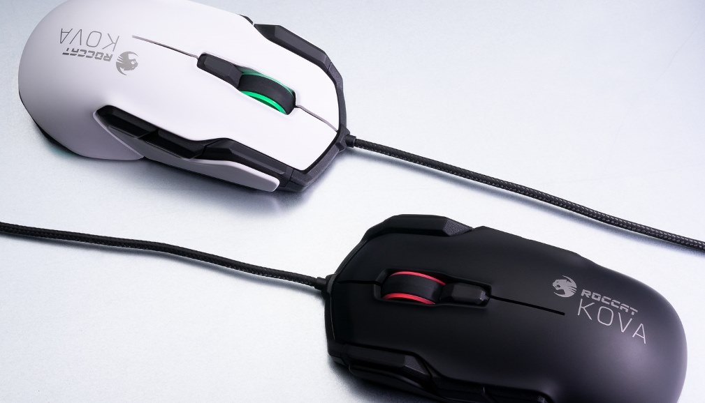 Roccat Kova AIMO Black and White
