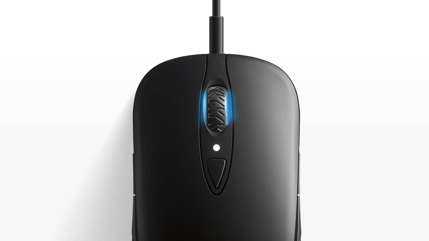 Мышка снизу