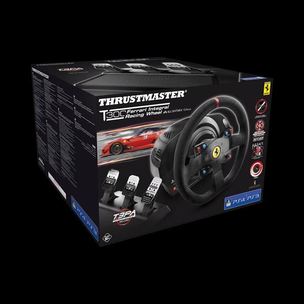 Thrustmaster T300 Ferrari Integral RW Alcantara Edition стоимость