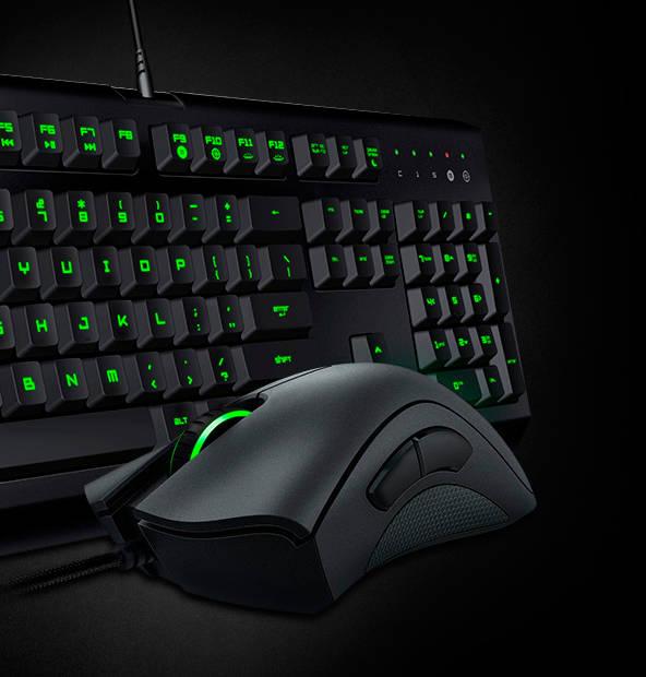 Фото мышки и клавиатуры