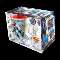 ABYstyle DC Comics - чашка, брелок, знак Superman (ABYPCK074)
