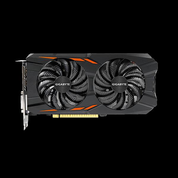 Gigabyte GeForce GTX 1050Ti WF2OC (GV-N105tWF2OC-4GD) цена