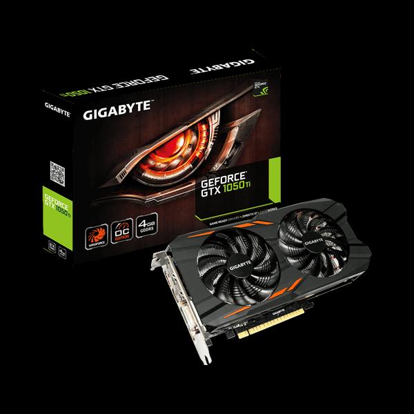 Gigabyte GeForce GTX 1050Ti WF2OC (GV-N105tWF2OC-4GD) стоимость