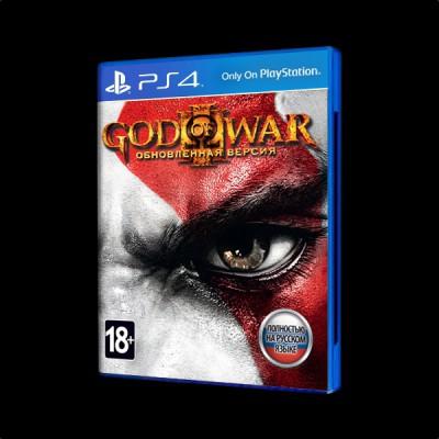 God of War 3. Обновленная версия PS4 купить