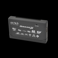 Grand-X multi All-in-One 64Gb to 2Tb SDXC (CRX05Black)
