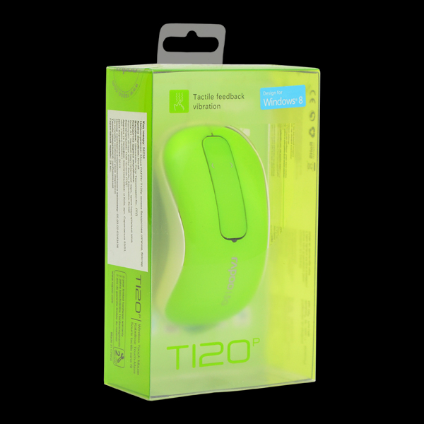 Rapoo Wireless Touch Mouse T120P Green фото