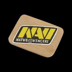 NaVi Logo Wood