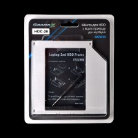 Адаптер подключения в отсек привода ноутбука SATA3 Slim 9.5mm Grand-X HDC-26