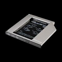 Адаптер подключения в отсек привода ноутбука Grand-X HDC-24N