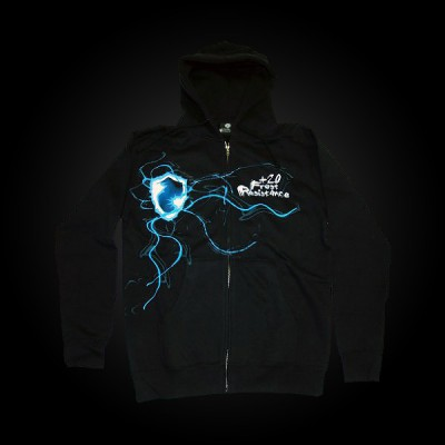 J!NX World of Warcraft +20 Frost Resistance Zip-up Hoodie L