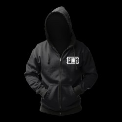 "PUBG Zip-Up ""Logo"" L"