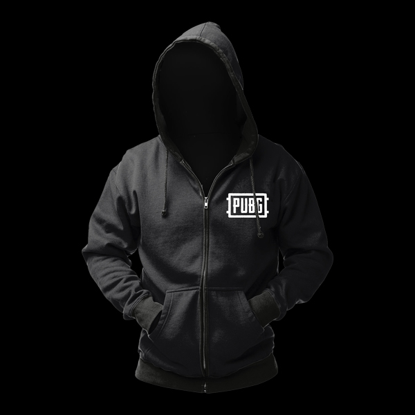 PUBG Zip-Up Logo