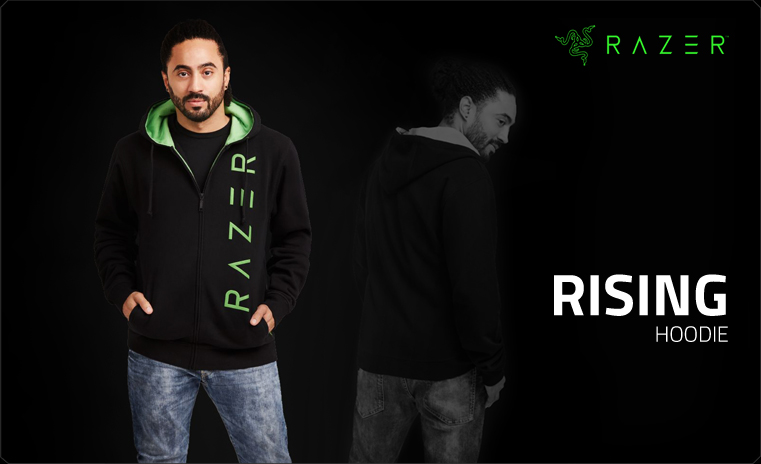 Razer Rising Hoodie Men XL (RGF7M03S3M-08-04XL)